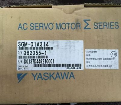 ONE new in box Yaskawa servo motor SGM-01A314 by DHL or EMS