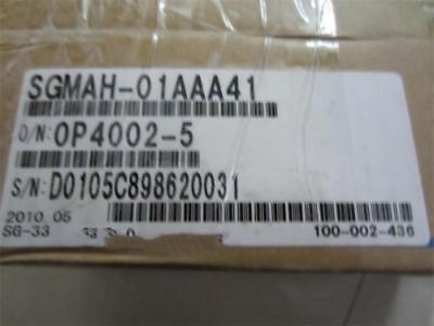 1PCS NEW IN BOX  Yaskawa servo motor SGMAH-01AAA41 by DHL or EMS
