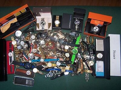 Huge Lot of Watches Watches,New,Used Men's & Ladies Vintage Casual Fashion,150+