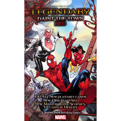 Marvel Legendary Paint the Town Red - Upper Deck - New Card Game