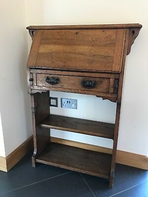 Drop front bureau -Arts and Crafts style