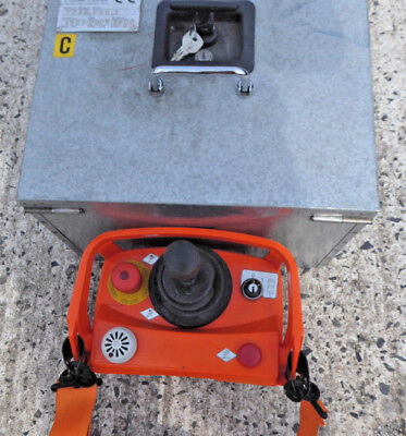 Omac Cable laying hydraulic winch undergroundcable pulling winch controller rr06