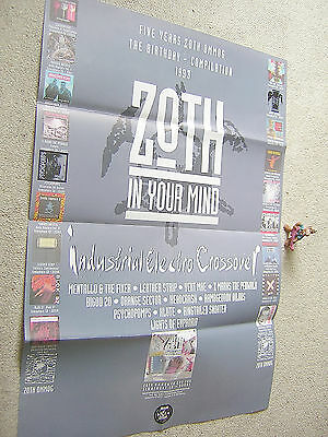 5 Years ZOTH OMMOG Zoth In Your Mind 1993 GERMAN PROMO-POSTER 60,5 x 42 cm