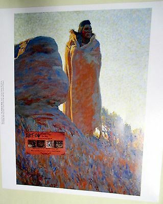~MEDICINE ROBE~ Indian in Robe Nixon Print Buffalo Bill Historical Center Museum