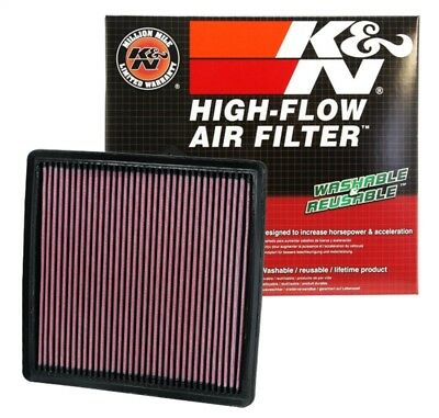 K&N Reusable Replacement Air Filter For 2009-2018 Ford F150 F250 F350 33-2385