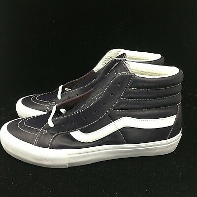10c14e7f54 Vans Vault Sk8-Hi Reissue Mens VL Italian Leather Liz VN0A3MV7R3P Purple NIB