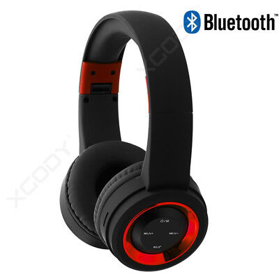 Bluetooth Headsets Headphones Lightweight Over Ear Foldable For Iphone LG HTC