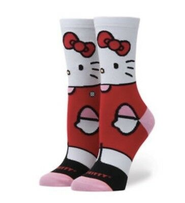 STANCE socks SANRIO Girls HELLO KITTY Youth LARGE 2-5.5 Limited Edition