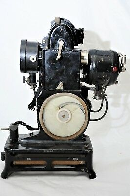 Pathe Baby Pathescope 9.5mm Film Motion Picture Projector w/ aux motor