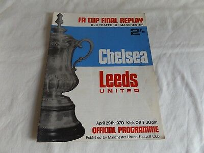 1970  F A CUP FINAL REPLAY  CHELSEA  v  LEEDS UNITED