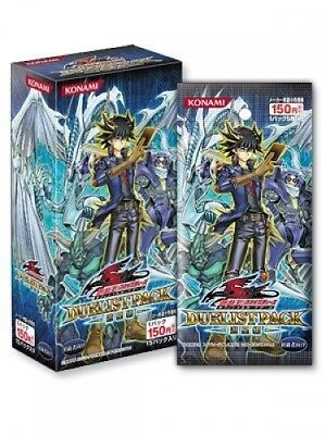 Yugioh Yusei Fuso Duelist Pack 4 Booster Pack (Japan Import)