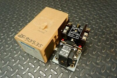 Joslyn Clark 50590 PMT Pneumatic Timing Relay 713UPE-76 10A 600VAC