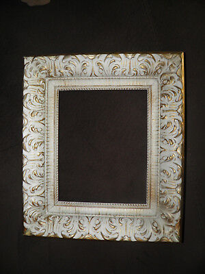 Antique/Vintage Wood with Gilt & Gesso Frame for 8x10 Picture Beautiful!