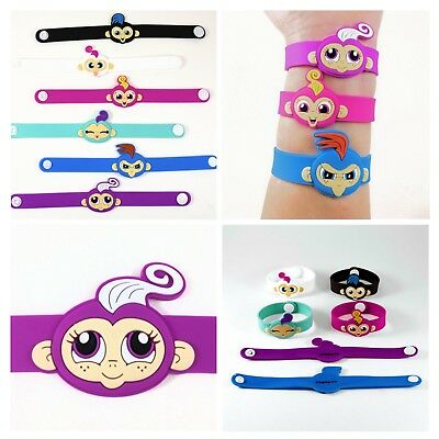 Party Favors Bracelets Finger Monkeys Kids Goody Bag Birthday Loot Jewelry Gifts