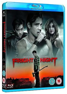 Fright Night [Blu-ray, Region Free Scary Horror Action Colin Farrell] NEW