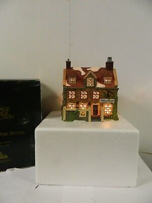 Department 56 Dickens Village Deadlock Arms  House  w/ Original Box