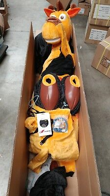 *CLEAN* Complete and rare 2016 Toys-R-Us Geoffrey adult mascot costume