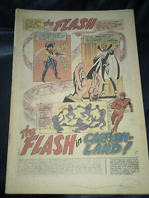 Flash #212 1972 Missing Cover bronze Age