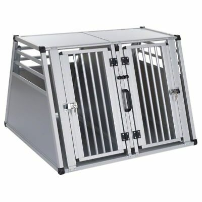 Double Dog Breeder Kennel Twin  Crate Heavy Duty Metal
