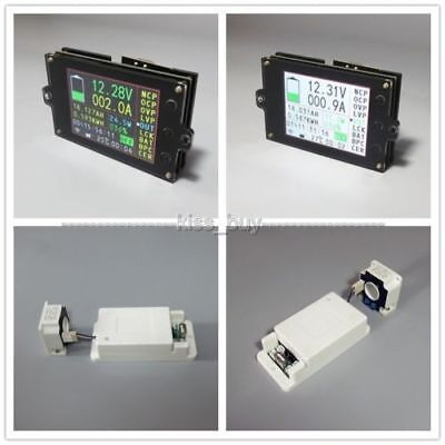 120V 50A wireless AMP temperaturecoulombcapacitypower battery Monitor (S350