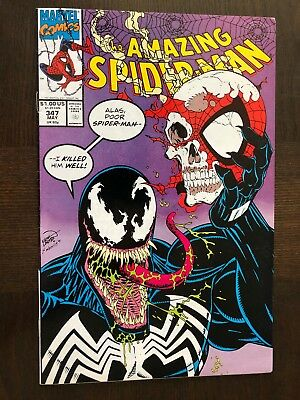 The Amazing Spider-Man #347 VF+ (May 1991, Marvel)