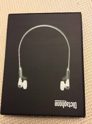 Dictaphone  Deluxe Transcription Sound Set Headset - Brand New in Box
