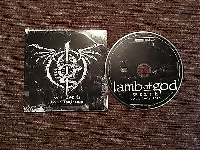LAMB OF GOD Wrath Tour 2009-2010 CD Roadrunner 2012 ExEx RARE/OOP, Pantera