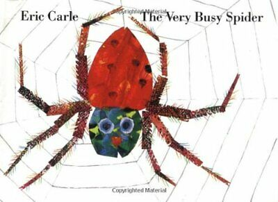 The Very Busy Spider by Carle, Eric Book The Cheap Fast Free Post