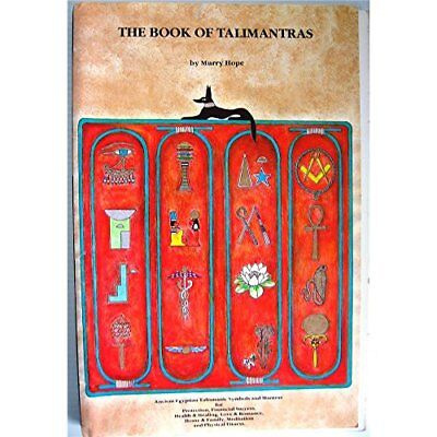 Book of Talimantras by Hope, Murry Spiral bound Book The Cheap Fast Free Post