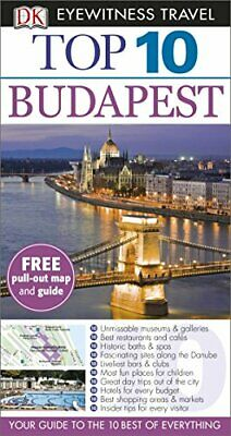 DK Eyewitness Top 10 Travel Guide: Budapest by DK Book The Cheap Fast Free Post