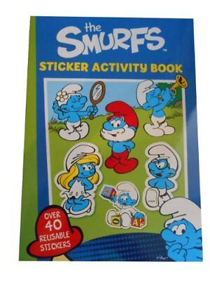 Alligator Books The Smurfs Sticker Actvity Book Book The Cheap Fast Free Post