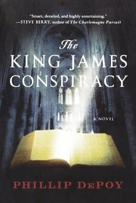 The King James Conspiracy by DePoy, Phillip Paperback Book The Cheap Fast Free
