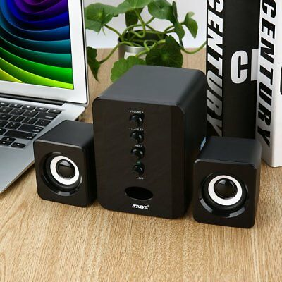 SADA D-202 Wired Combination Speakers Computer Bass Stereo Music Player