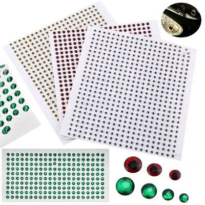 200/500pcs 3D Fishing Lure Eyes Fly Tying Crafts Stickers 3/4/5/6mm Saltwater DY