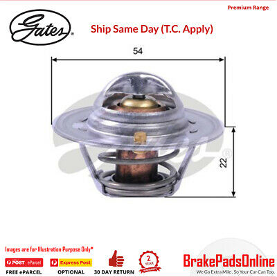 Gates TH12888G1 THERMOSTAT for FORD (Europe) Escort MK II AT KL16G 1.6L Petrol R