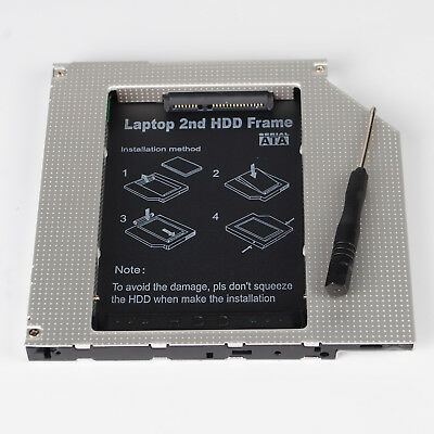 2nd 9.5mm Hard Disk HDD SSD PATA Caddy for MacBook Pro A1181 A1260 A1150 A1211