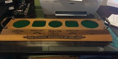 The Classic Whiskeys Of Ireland 5 Bottle Promo Display Jameson