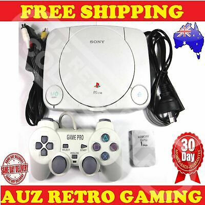 Sony PS1 Playstation 1 SLIM Console Pack PS One Slimline PSX