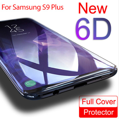 For Samsung Galaxy S9 S8 Screen Protector Film 6D Curved Full Tempered Glass 1Pc