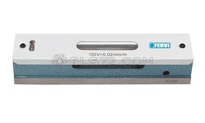 High Precision Linear Level Measuring Tool 0,02 Mm/M Accuracy Fervi L200