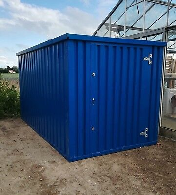 Flat Pack Storage Container 2m  x 3m  Garden , Shed , Bike , Quad , Mower , Tool