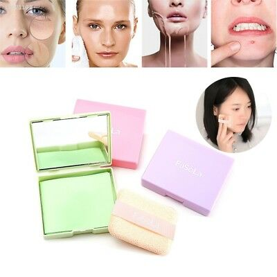 80Sheets Oil absorbing sheets Blotting paper Design Oil control With puff 44AD