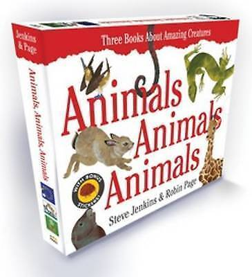 Animals, Animals, Animals Gift Set by Steve Jenkins, Robin Page (Hardback, 2014)