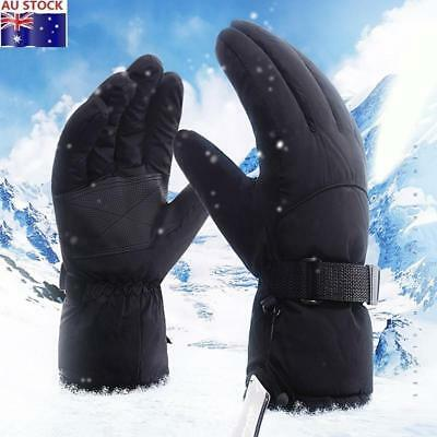 Men's Waterproof Windproof Skiing Gloves Climbing Gloves Fleece Lined Thickened