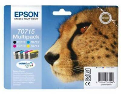 Epson T0715 Multipack Original Druckerpatrone OVP&NEU Top Angebot