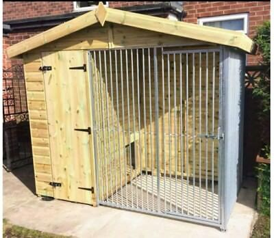 Dog kennel and run 8 x 4 ft , delivery available