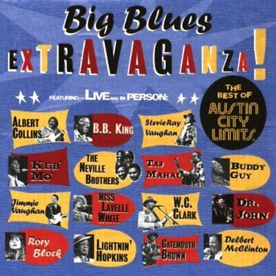 Various - Big Blues Extravaganza - Various CD TQVG The Cheap Fast Free Post The
