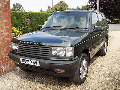 Range Rover P38a 4.0 litre SE 5 speed manual. Epsom Green, leather, aircon. VGC.