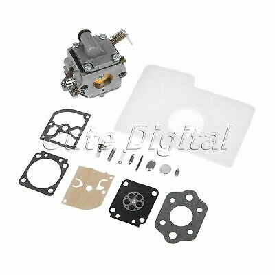 Chainsaw Carburetor Carb Rebuild Kit For STIHL 017 018 MS170 MS180 Replacement