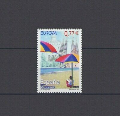 Spain, Europa Cept 2004, Holidays Theme, Mnh